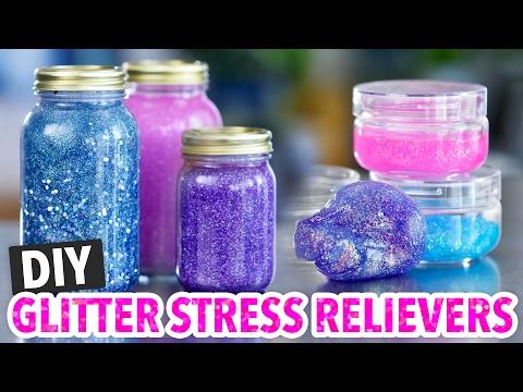 DIY Calming Glitter Jars & Glitter Slime - HGTV Handmade