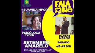 Fala Sério - Setembro Amarelo - MPC Brasil - ABC Paulista