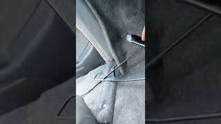 Quick how to on replacing or removing the trunk lid torsion bars. N...