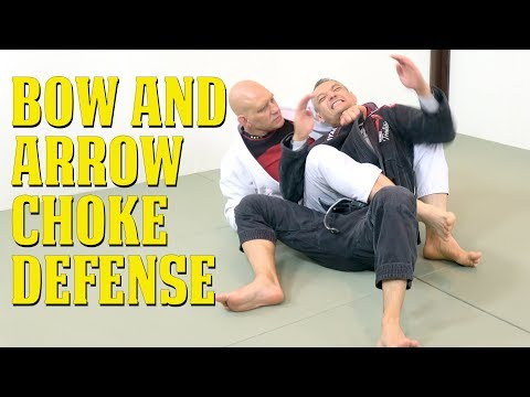 Bow and Arrow Choke Defense