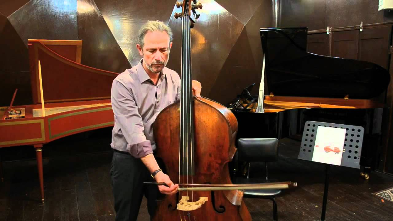 HOW does it SOUND? - Mr. Karr would you teach me How to Drive a Double Bass - Lesson No. 5