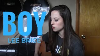 Lee Brice - Boy (cover)
