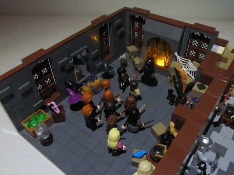 """lego-harry-potter!---""""room-of-requirement""""-from-the-order-of-the-phoenix-(full-main-cast-included!)"""
