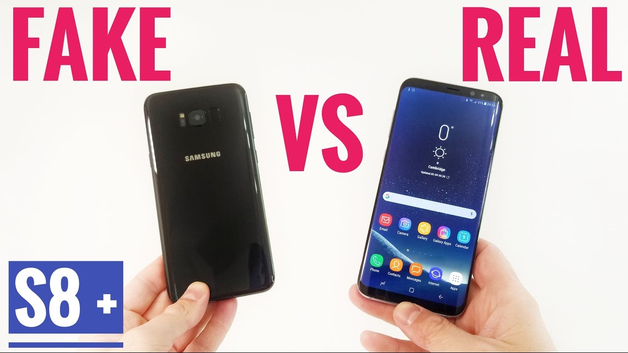 fake vs real samsung galaxy s8 plus buyers beware youtube. Black Bedroom Furniture Sets. Home Design Ideas