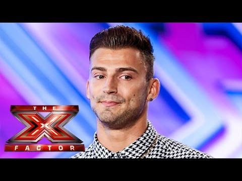 Jake Quickenden sings Say Something and All Of Me  Room Auditions Week 2  The X Factor UK 2014
