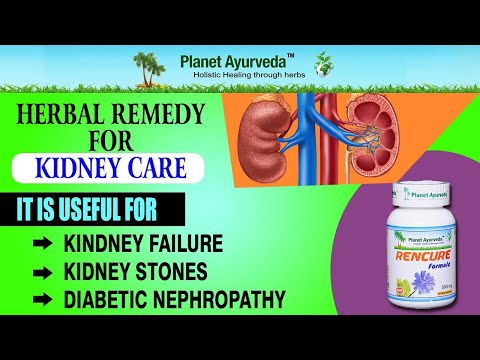 Herbal Remedies for kidney Diseases- Rencure Formula