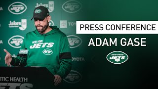 Adam Gase Press Conference (11/29) | New York Jets | NFL