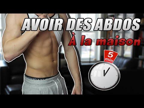 [5 MINUTES] COMMENT AVOIR DES ABDOS RAPIDEMENT ? PROGRAMME MAISON !