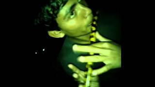 "amay ato rate keno dak dili ""flute version"" covered by rahat"