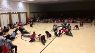 Parkside 4th Graders perform Ririe-Woodbury dance