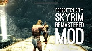 Skyrim Xbox One Mod The Forgotten City: Let's Play Skyrim Remastered Mod Forgotten City (Ep. 1)