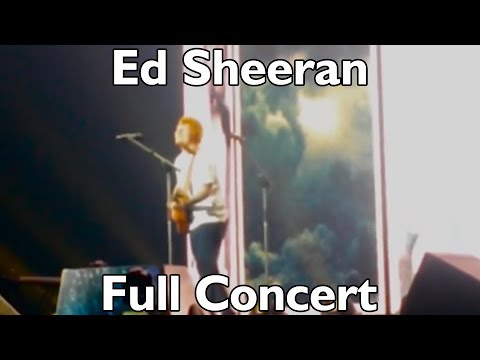 Ed Sheeran FULL CONCERT Newcastle Metro Radio Arena 19/04/2017