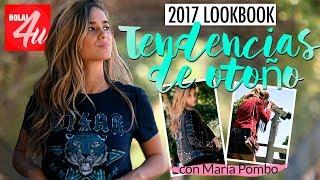 5 'looks' para otoño 2017   'Lookbook' con María Pombo