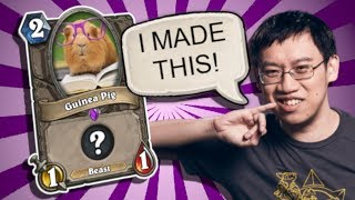 TOP CUSTOM CARDS of the Week #56 - TRUMP MADE A CARD?! | Card Review | Hearthstone