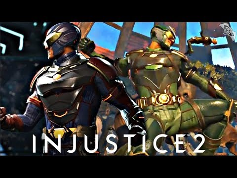 Injustice 2 - Atom Epic Gear Gameplay!