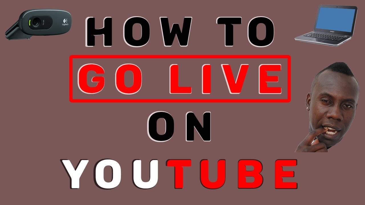 how to stream live on youtube