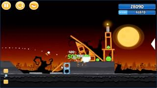 Angry Birds trick or treat 3 Estrellas instancia de parte 2-13