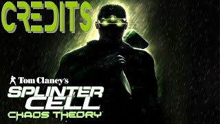 Splinter Cell: Chaos Theory - Credits