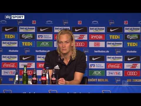 Bibiana Steinhaus nach ihrem Debüt - Hertha BSC gegen Werder Bremen 1-1 (PK Highlights)
