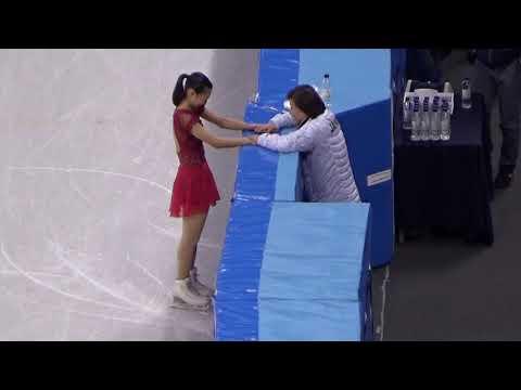 2018平昌 PyeongChang 坂本香織 フィギュアスケート団体 女子シングルス フリー