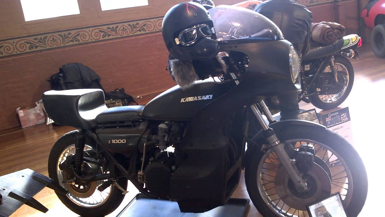 MAD MAX cars in MELBOURNE - GOOSE MOTORCYCLE KAWASAKI - YouTube