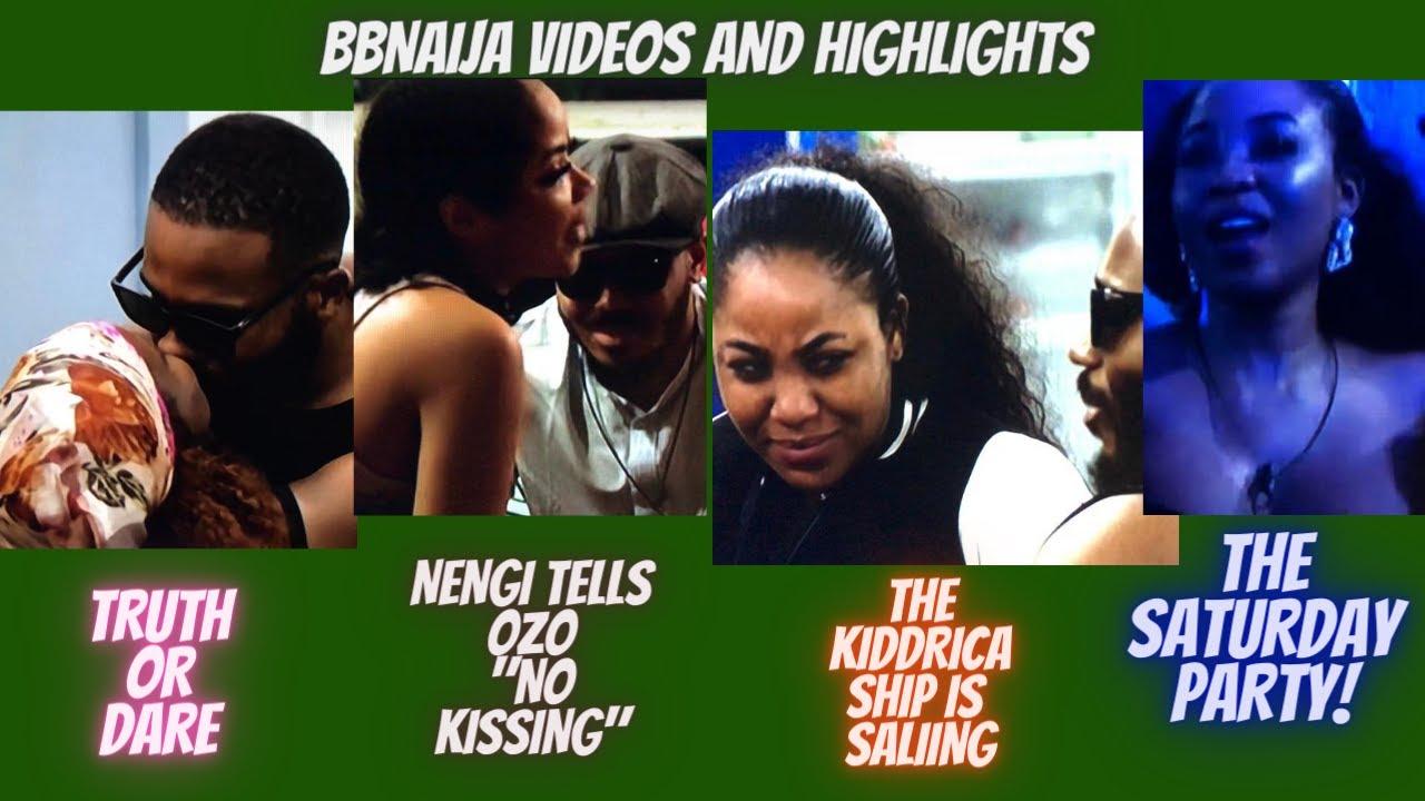 BBNaija: Truth Or Dare|Nengi Refuses To Kiss Ozo|Saturday Night Party|KiddWaya And Erica Sail