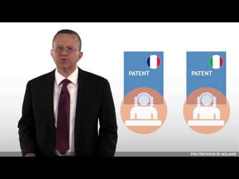 Filing a patent application (Antonio Salerno)