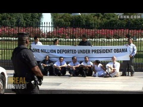 Protest Demands Obama Stop Immigrant Deportations