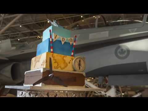 wedding-set-up-at-the-canada-aviation-and-space-museum