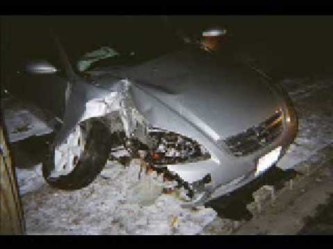 2002 Nissan Altima Car Accident Car Crash Totaled