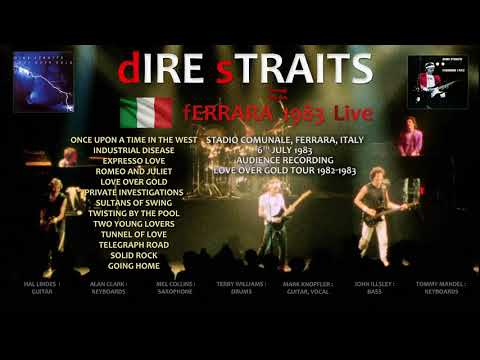 Dire Straits — 1983 — LIVE in Ferrara, Italy [AUDIO ONLY]