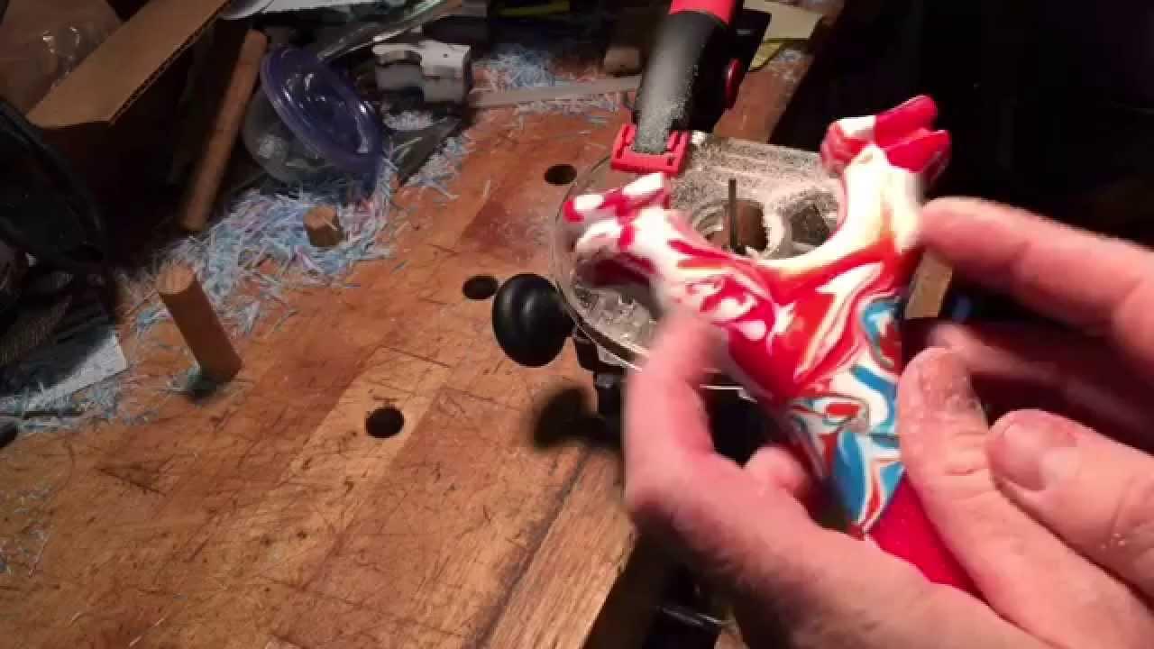 Melting hdpe for slingshot
