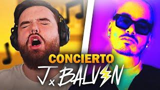REACCIONANDO AL CONCIERTO DE J BALVIN EN FORTNITE