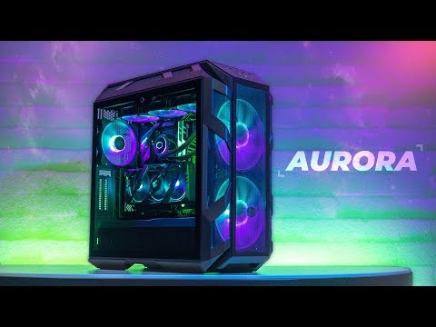 AURORA - Cooler Master H500M Gaming PC Build