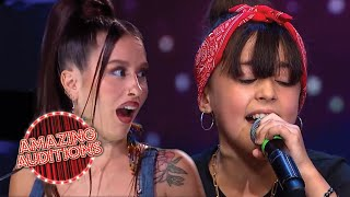 ADORABLE Kid Singer STUNS With POWERFUL Audition   Amazing Auditions