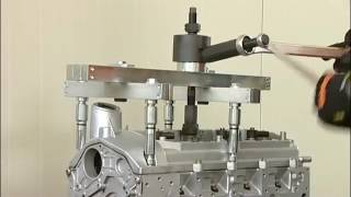Surtido herramientas para extracción de inyectores 960KI  1462KI