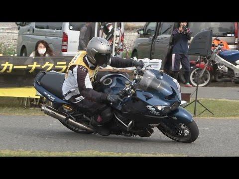 2016 11 20 Ehime Dunlop Moto Gymkhana ざっぱあ 選手 ZZR1400 heat 1