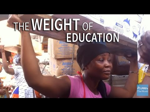 "In Ghana, ""kayayei"" carry heavy loads to help pay for school 
