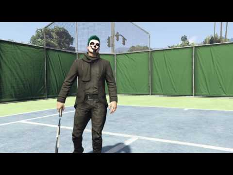 GTA 5 online play TENNiS WiTH Friend