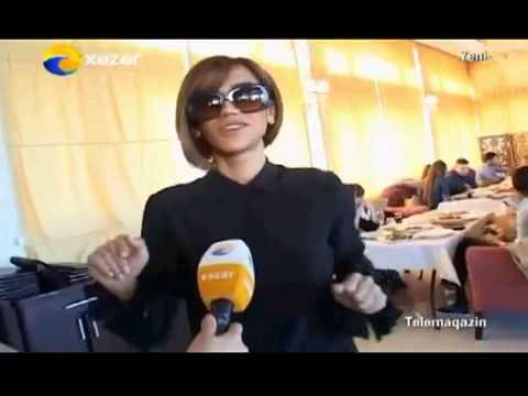 Roya fanlarla gorusdu   Xezer TV Telemaqazin
