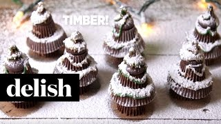 Holiday Dessert How To: Reese's Trees | Delish