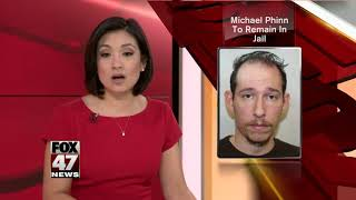 Michael Phinn to remain in jail