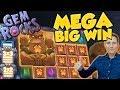 BIG WIN!!! Gem Rocks Big win - Casino Games - free spins (Online Casino)