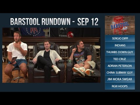 Barstool Rundown - September 12, 2017