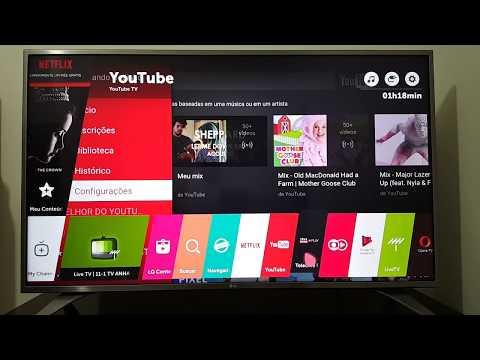Como Restaurar TV LG webOS para Configurações de Fábrica