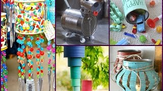 DIY Tin Can Crafts Ideas - Recycled Home Decor
