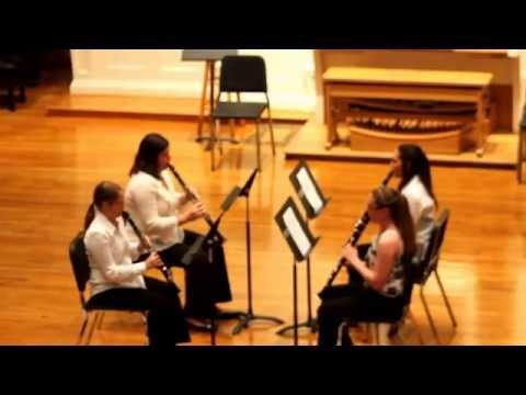 Suite for Four Equal Clarinets by T. Stewart Smith, Movements I & III