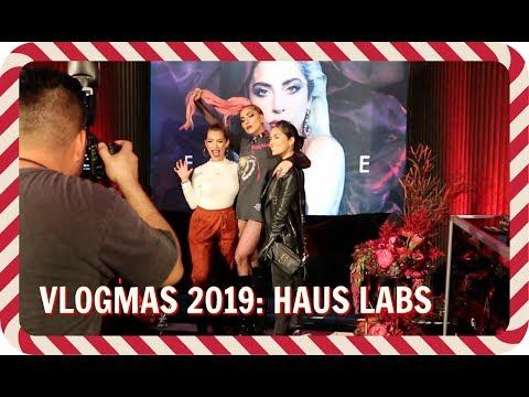 VLOGMAS 2019 EPISODE 4: MEETING LADY GAGA & CELEBRATING HAUS LABS HOLIDAY LAUNCH