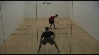 Racquetball - Pro Shane Vanderson VS Pro Mitch Williams. Game SLC part 2 of 2
