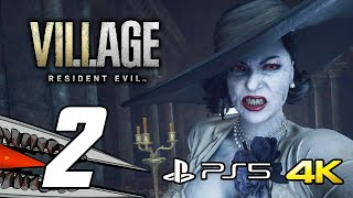 Resident Evil 8 Village - Gameplay Walkthrough Part 2 (PS5 4K 60FPS + Ray Tracing)